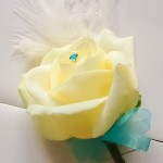 Button Hole White Rose