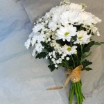 Daisy Bridesmaids Hand Tied