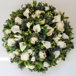 Loose Posy Pad White and Green