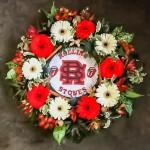 Rolling Stones Wreath