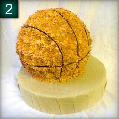 Basketball, Sports tribute, Flowers, Florist, Radcliffe, Bury