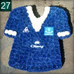 Funeral - Everton Football Shirt