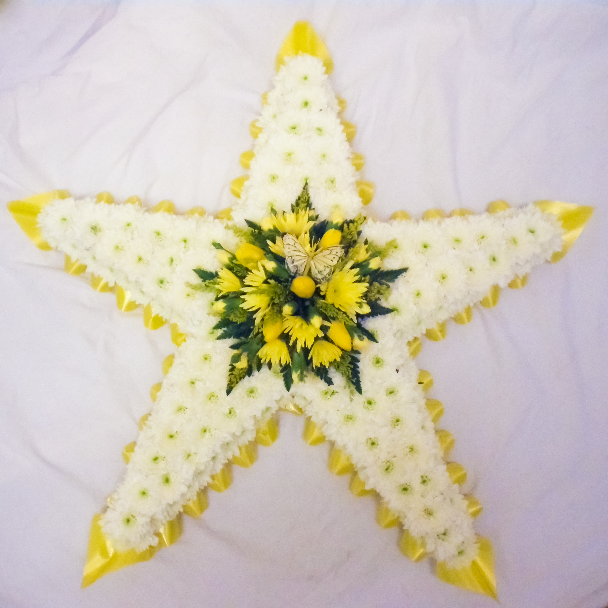 Funeral Star 5 Point Palmers Florist 0161 723 2486