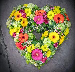 Heart | Tribute | Funeral | Florist | Radcliffe