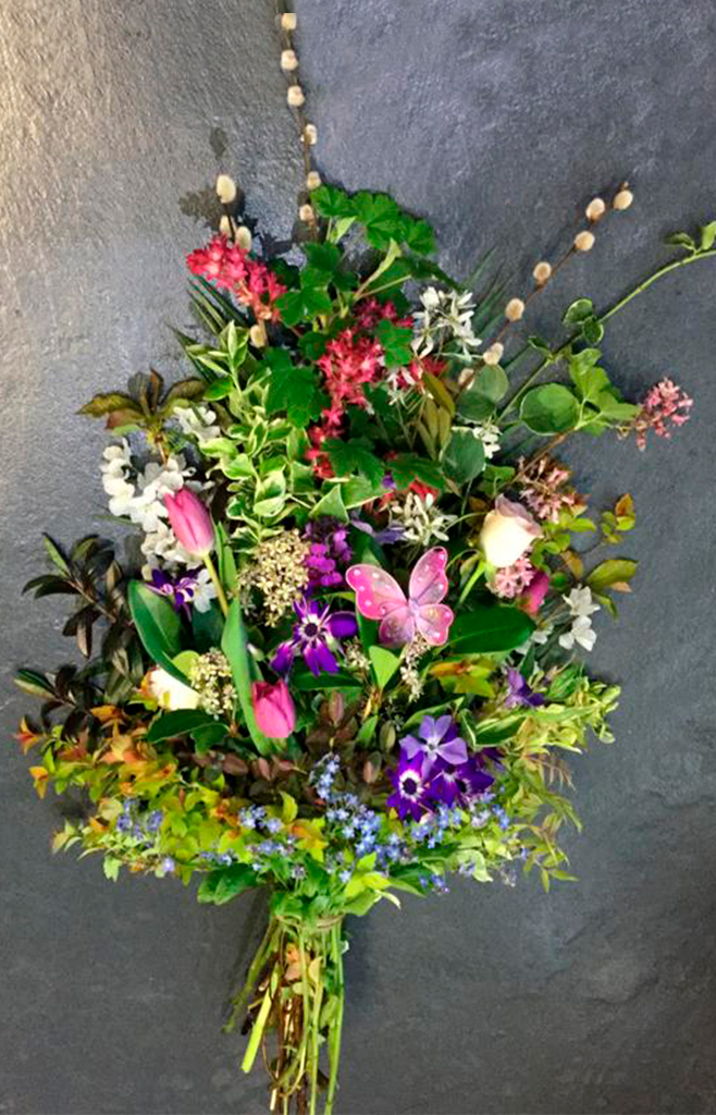 Open Spray, Wild Country, Mixed Radcliffe Florist, Flowers