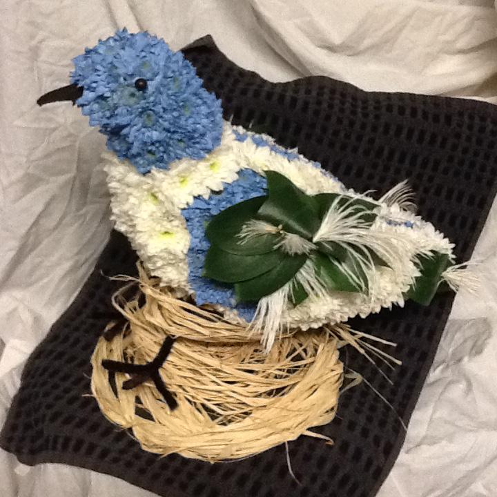 Funeral, Tribute, Bird, Flowers, Bury, Radcliffe