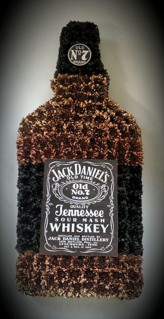 Jack Daniels Whiskey, funeral, flowers, bury, Radcliffe, drink